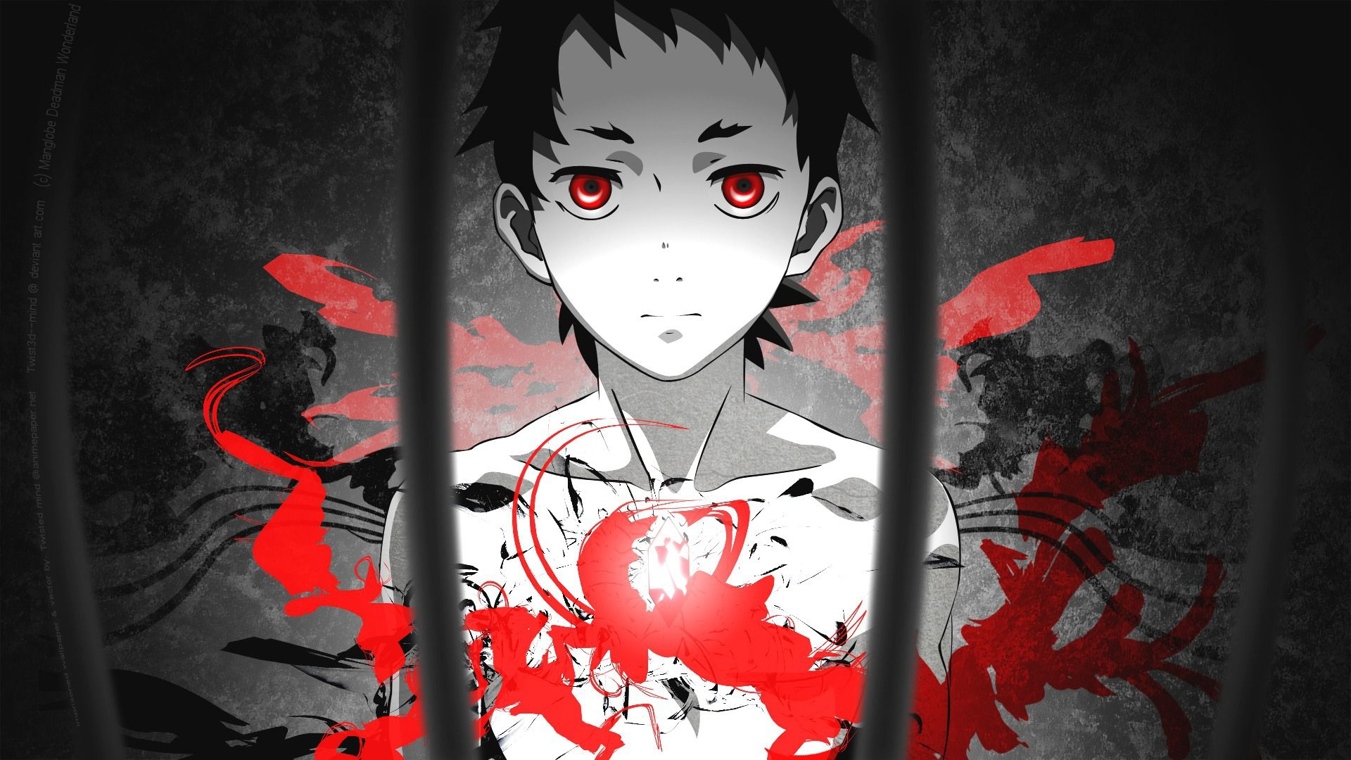 Ganta Deadman Wonderland Аниме, Манга, Страна чудес