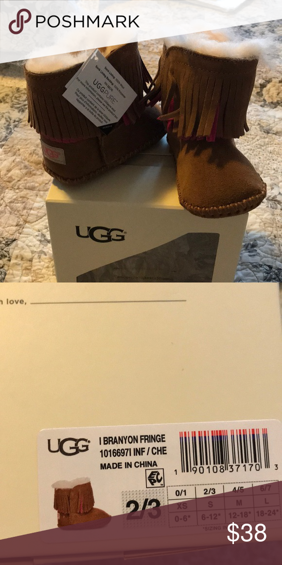 288ac5b29b9 Infant uggs New in box size 2/3 infant ugg boots UGG Shoes Winter ...