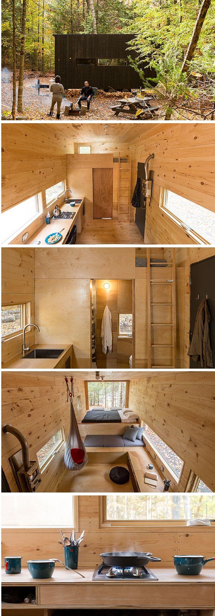 pin by igital arkets publishing on tiny home plans pinterest mini maison maison and. Black Bedroom Furniture Sets. Home Design Ideas