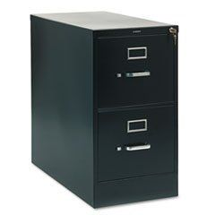 210 Series Two Drawer Full Suspension File Letter 28 1 2d Black By Hon 417 86 Extra Deep Files For Filing Cabinet Drawers Hanging File Folders