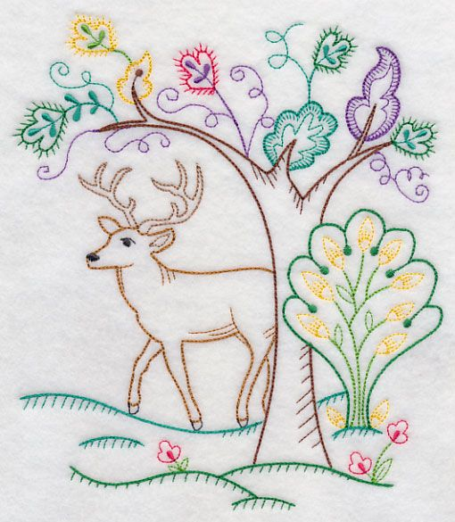 Bright Forest Buck (Vintage)