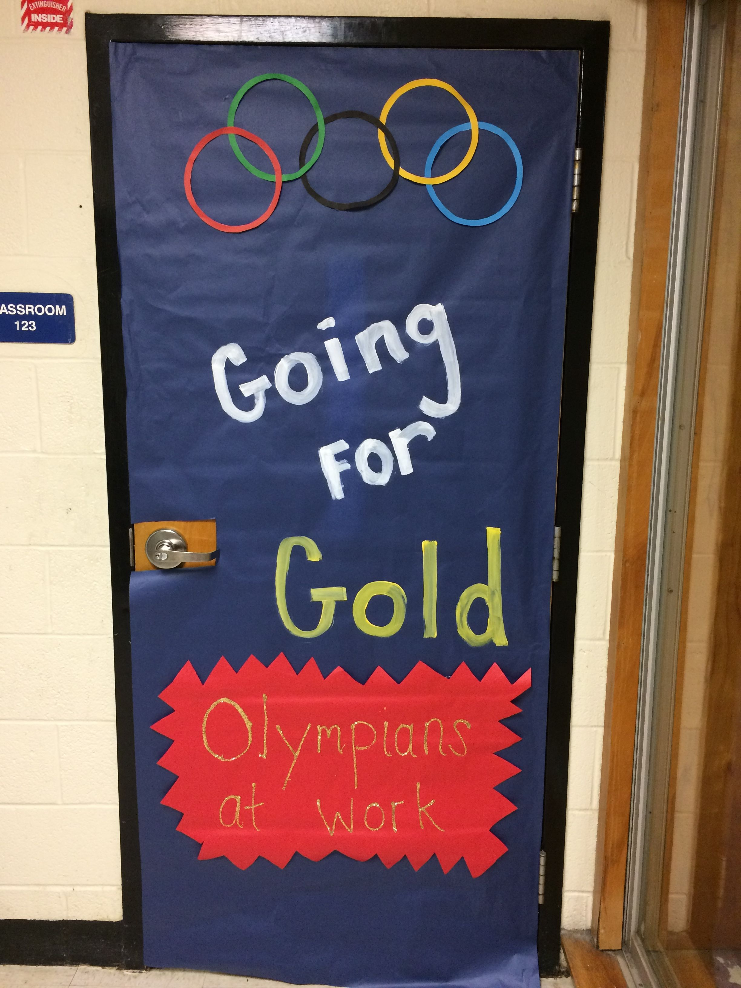Olympic Themed Classroom