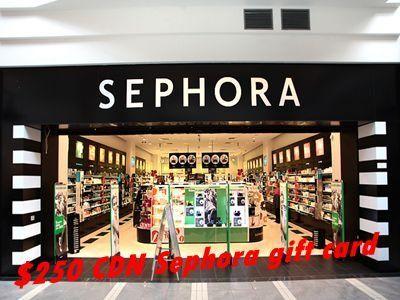 survey medallia com/sephora/canada Sephora Experience Survey $250