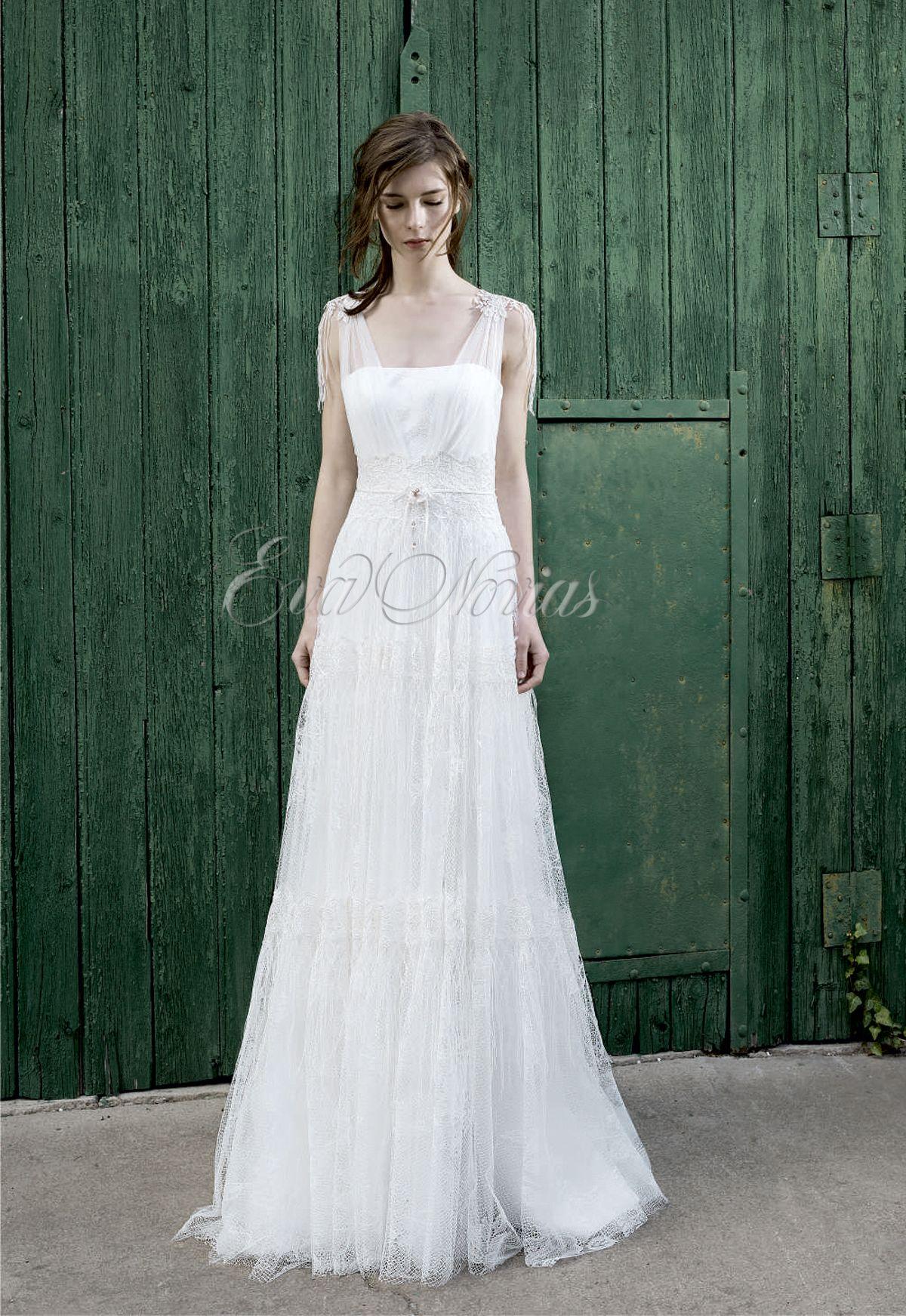 Vestido de novia Inmaculada 2016 García Modelo Holly en Eva Novias Madrid.  #vestido #novia #moda #boda #dress #weddingdress #bridalfashion #bridal