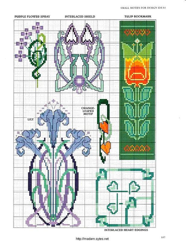 "Photo From Album ""Cross Stitch Art Nouveau"" On"