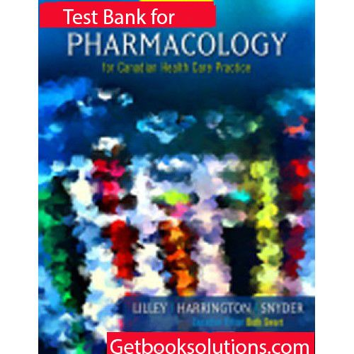 Test Bank For Pharmacology For Nurses A Pathophysiological Approach