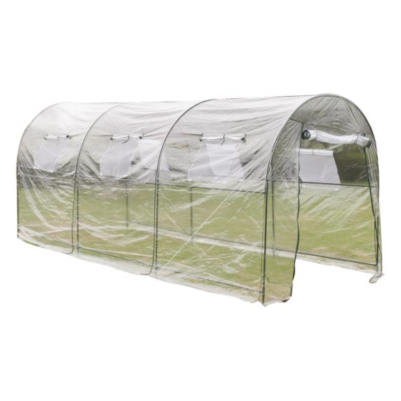 Serre De Jardin Tunnel 450 X 190 200 Cm Vidaxl Vidaxl Serre De Jardin Tunnel 450 X 190 200 Cm Serre Jar In 2020 Outdoor Greenhouse Portable Greenhouse Greenhouse