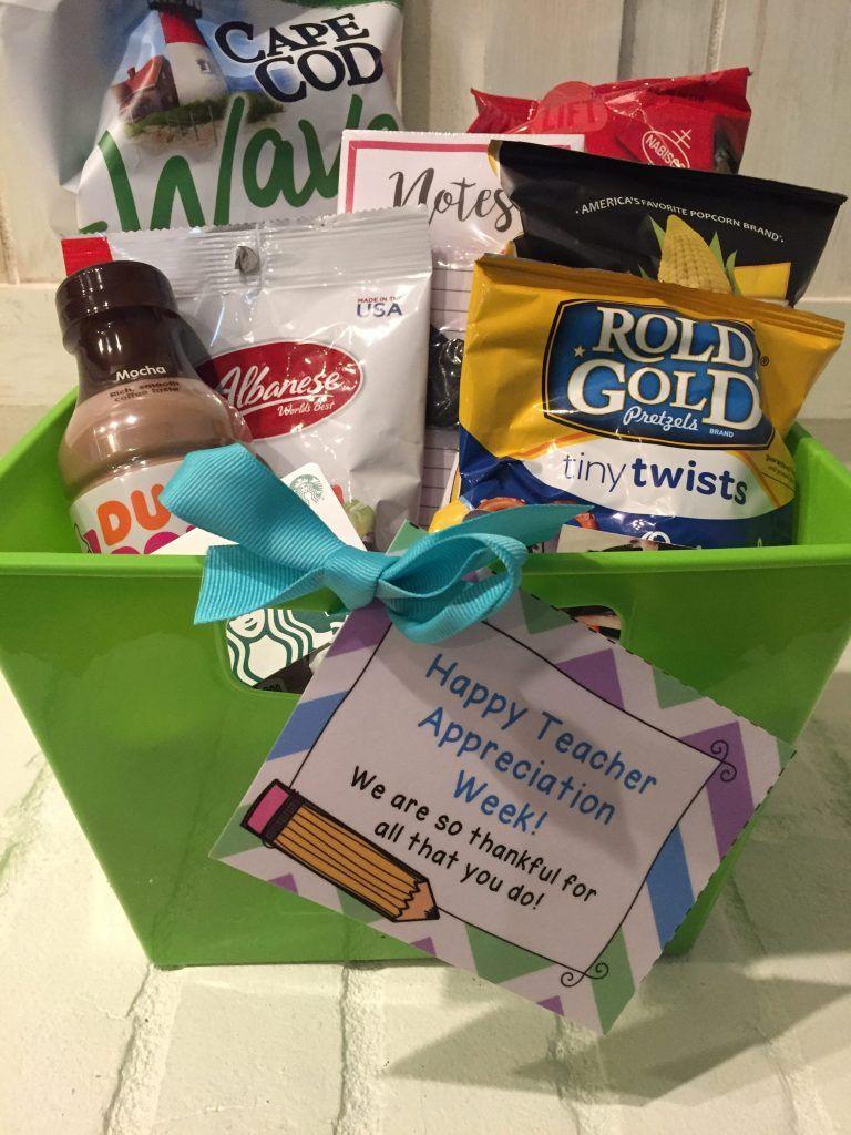 Teacher Appreciation Week 2018 Gift Ideas Teacher Gift