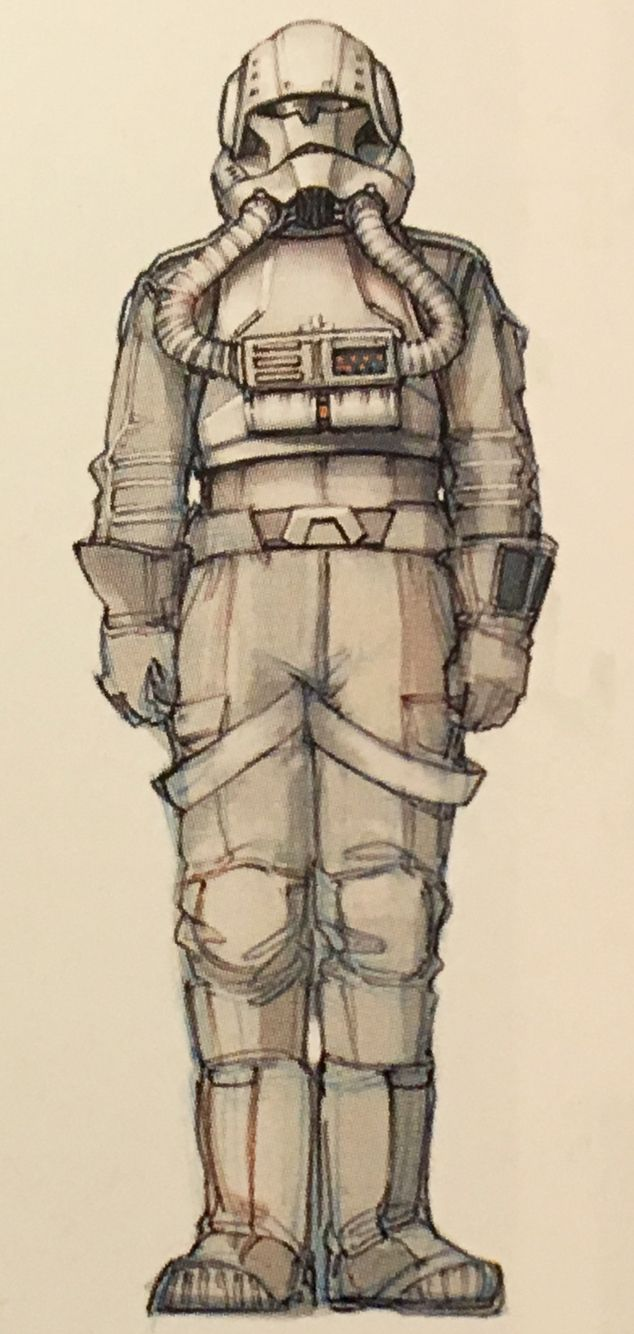 Concept Art Of A Clone Trooper Pilot From Star Wars Episode Iii Revenge Of The Sith 2005 Star Wars Art Star Wars Figures Star Wars Empire