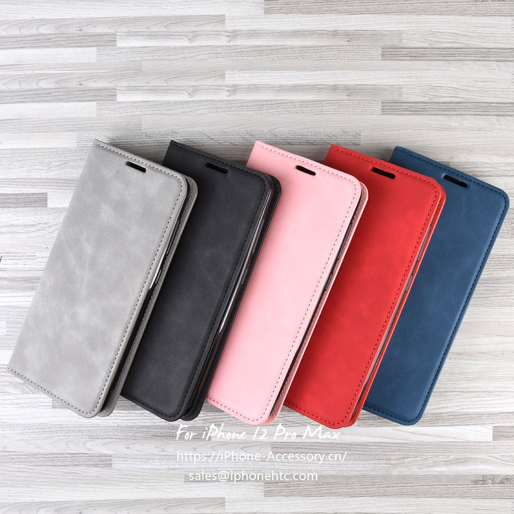 iPhone X 12 pro max leather Case