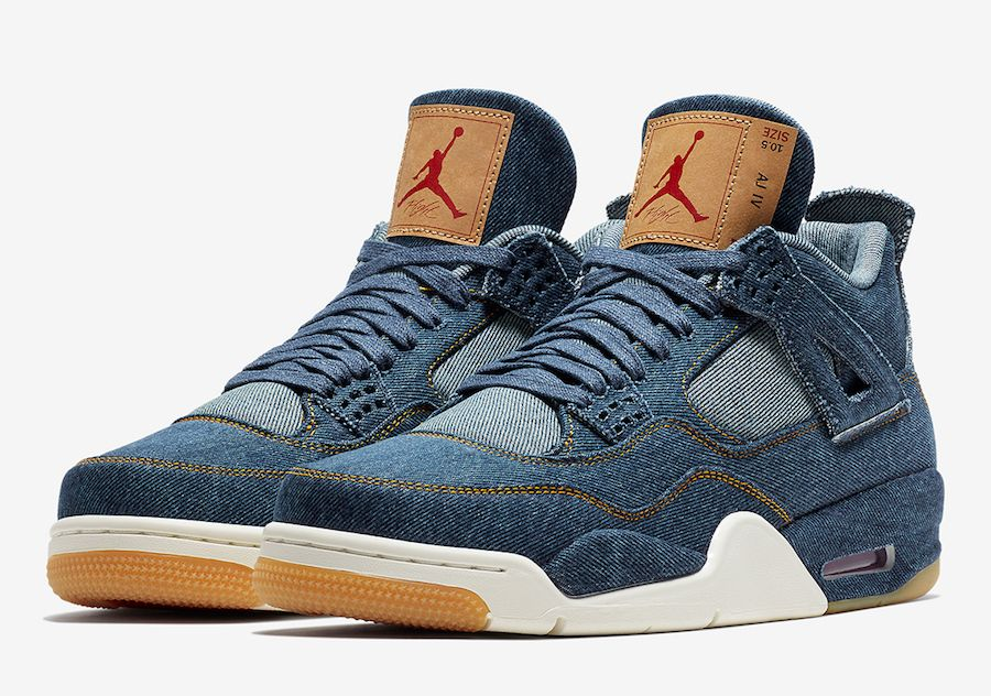 "Air Jordan 4 ""Levi's"" Official Photos"