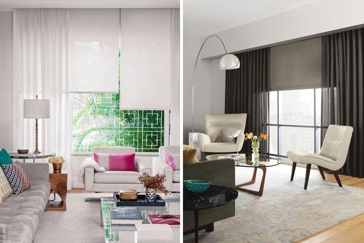 Tendencias en decoraci n de cortinas para estar a la ltima cortinas pinterest - Cortinas madrid centro ...