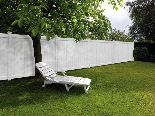 White Privacy Fence Cannot Wait To Get Ours Up Fences