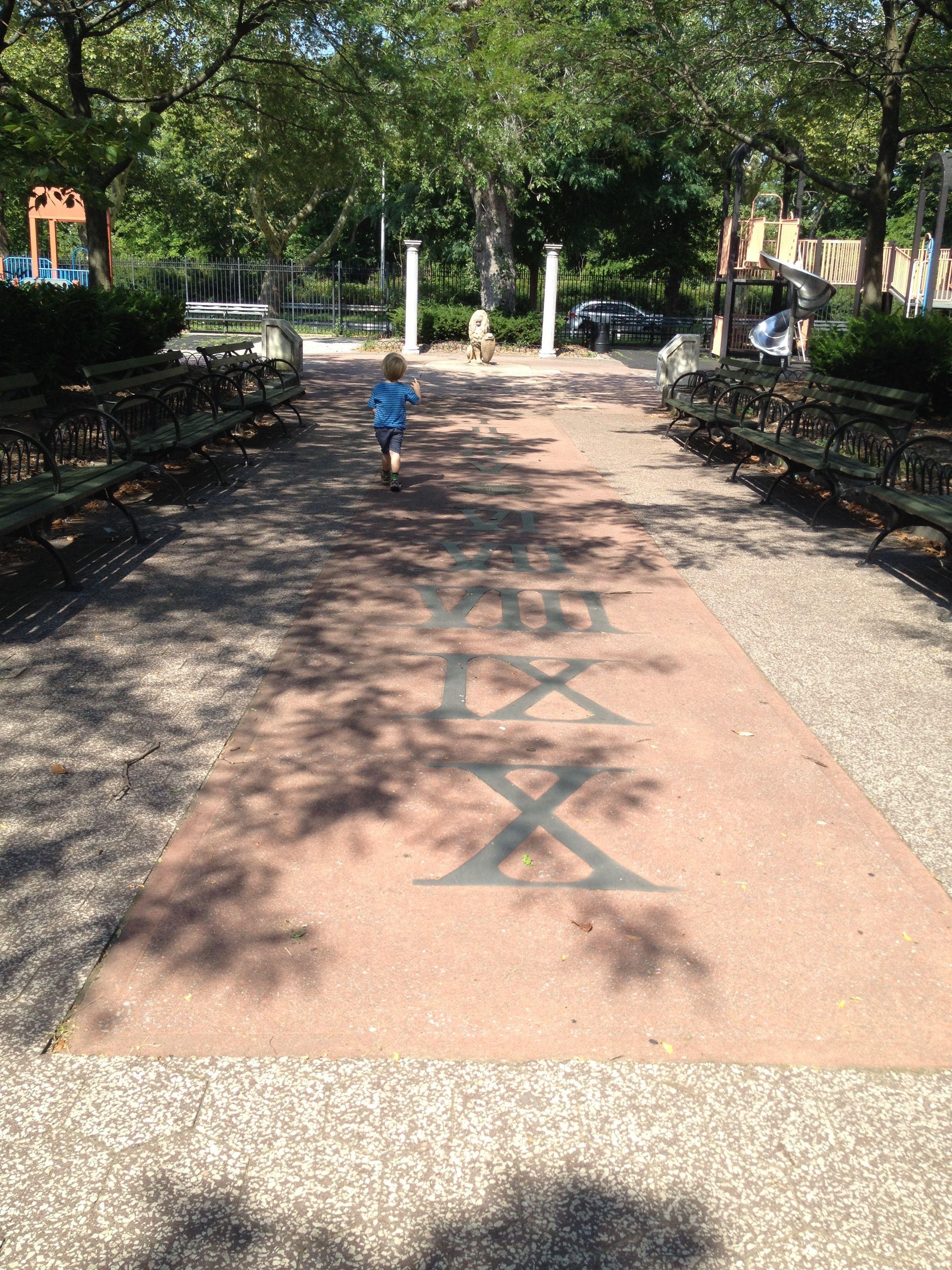 Laurelton playground walk