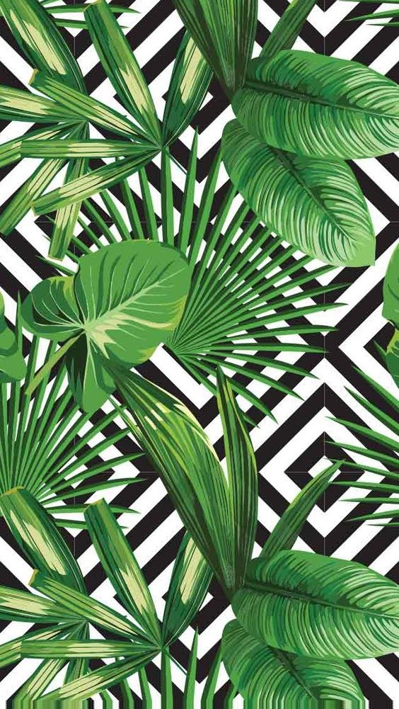 Green Black White Shall We Say A Geometric Modern Havana I LOVE This Pattern The Textures And Color Combo