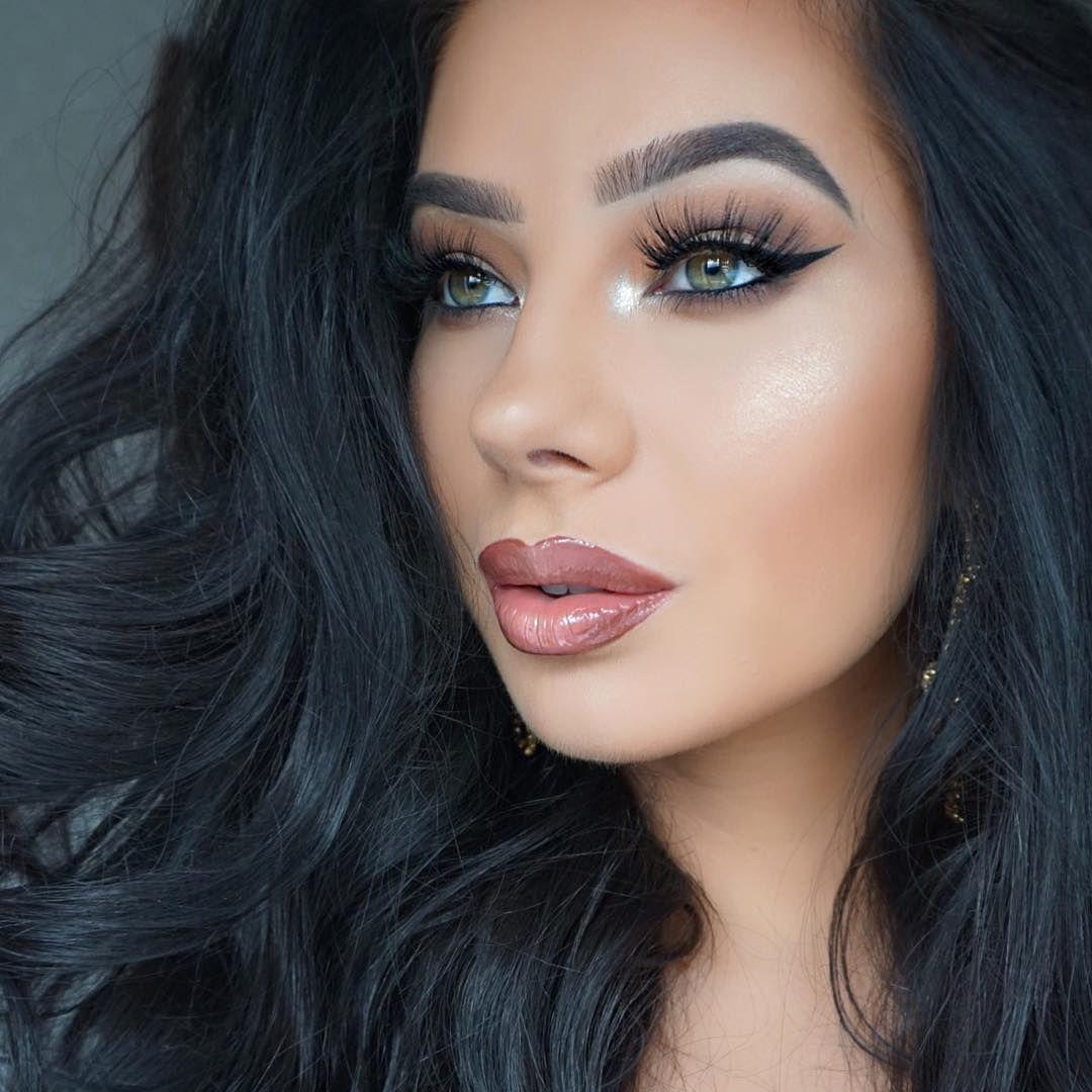 Klaudia Badura makeup, Smokey eye makeup, Makeup