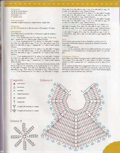 Resultado de imagem para bavaglini uncinetto schemi gratis