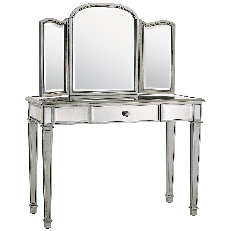Hayworth silver mirror u vanity mirror vanity vanities and bedrooms