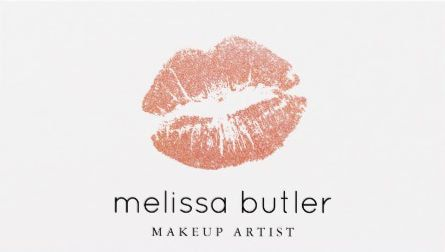 Simple and chic rose gold lips makeup artist business cards direct simple and chic rose gold lips makeup artist business cards direct link https reheart Gallery