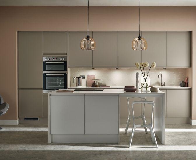 Kitchens Exterior In 2019 Cashmere Kitchen Howdens Kitchens Interior Design Kitchen