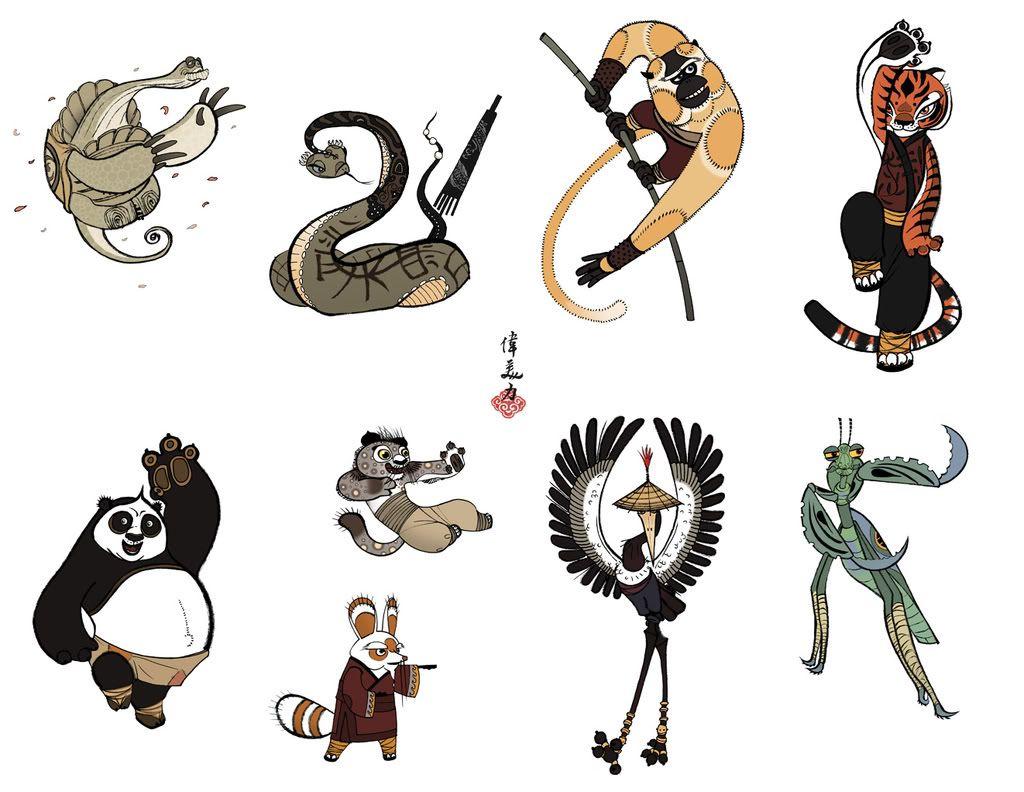 Kung Fu Panda Character Designer