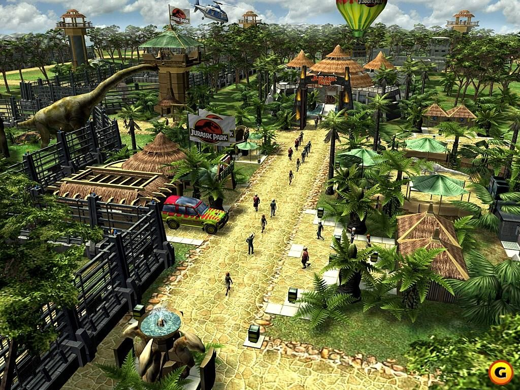 Who remembers this game? Are you hyped for Jurassic World