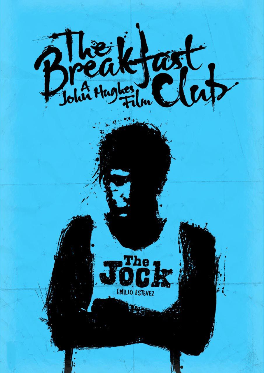 the breakfast club alternative movie posters i would like to own emilio estevez as andrew clark in the breakfast club