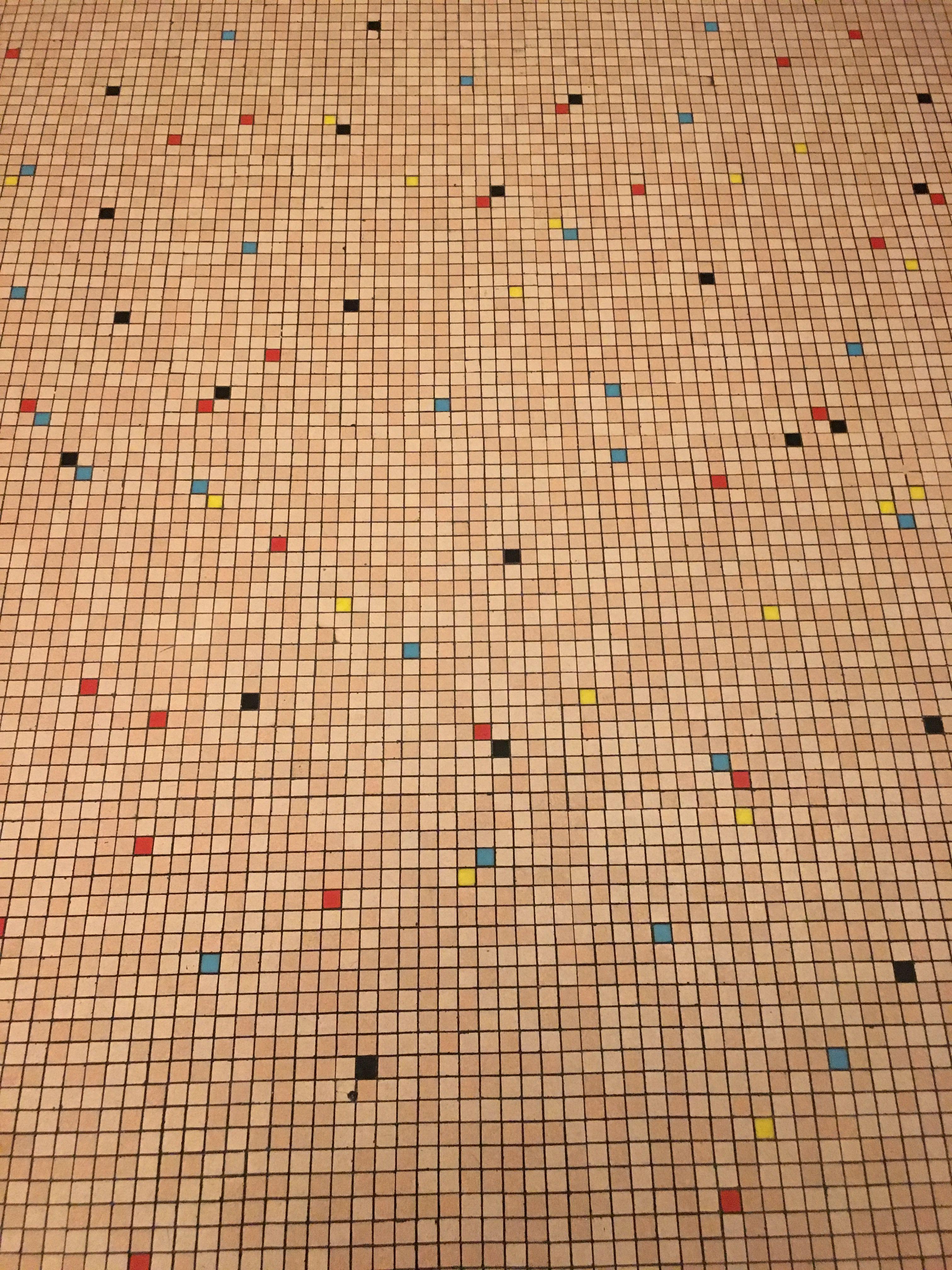 Carrelage Mosaique Annees 50 Immeuble Parisien Carelage