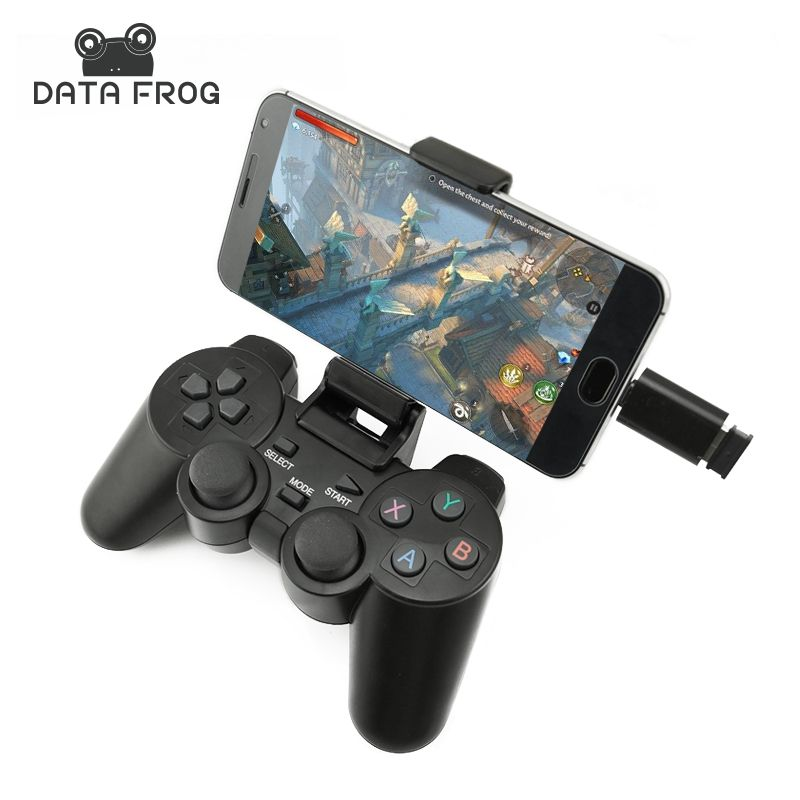 Android gamepad inalmbrico para android phonepcps3tv box 24g