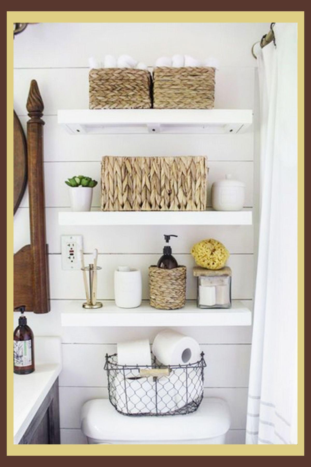 Bathroom Shelves Beautiful and Easy DIY Bathroom Space