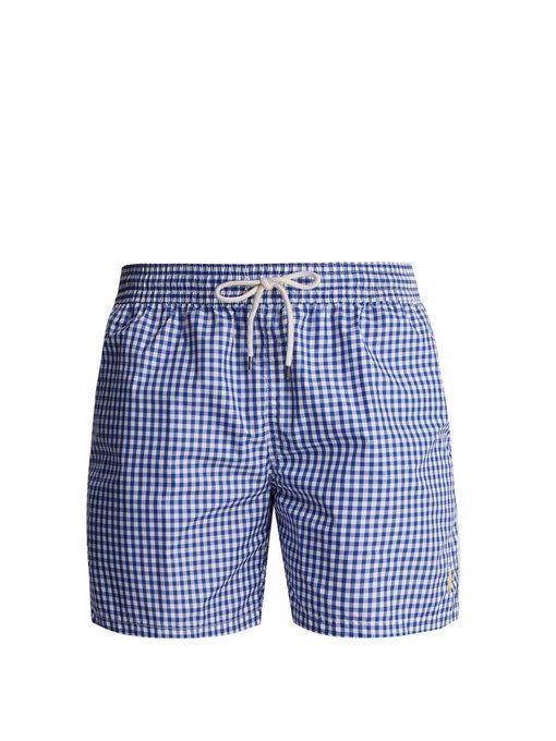 b19896a95e ... discount code for polo ralph lauren gingham swim shorts beach shorts  pinterest polo ralph lauren and
