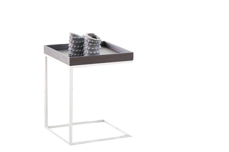 Jan Kurtz Table Basse Pizzo Frene Blanc Argent 110 X 40 X 60 Cm Frene Blanc 110 X 40 X 60 Cm En 2020 Dessus De Table En Bois Table D Appoint Dessus De Table