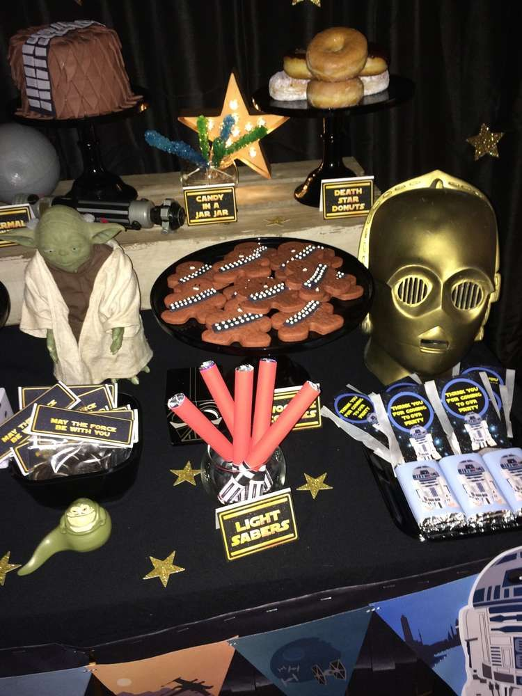 Fantastic Star Wars birthday party! See more party ideas