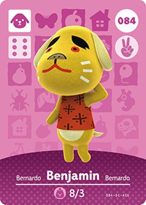 Nintendo Animal Crossing Happy Home Design Benjamin Amiibo