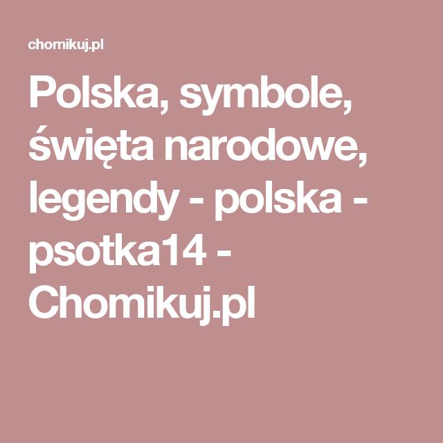 Polska Symbole święta Narodowe Legendy Polska Psotka14