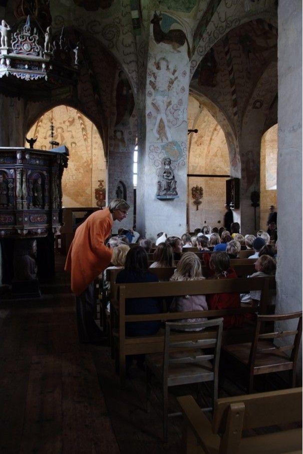 Hämeen keskiaikamarkkinat - Häme Medieval Faire 2008, Kirkossa - In Church, © Timo Martola
