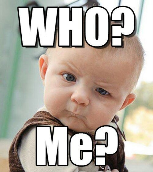 Who Me Funny Babies Baby Memes Funny Kids