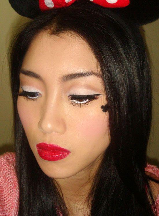 Halloween Minnie Mouse Makeup Look   Makeup   Pinterest   Minnie ...