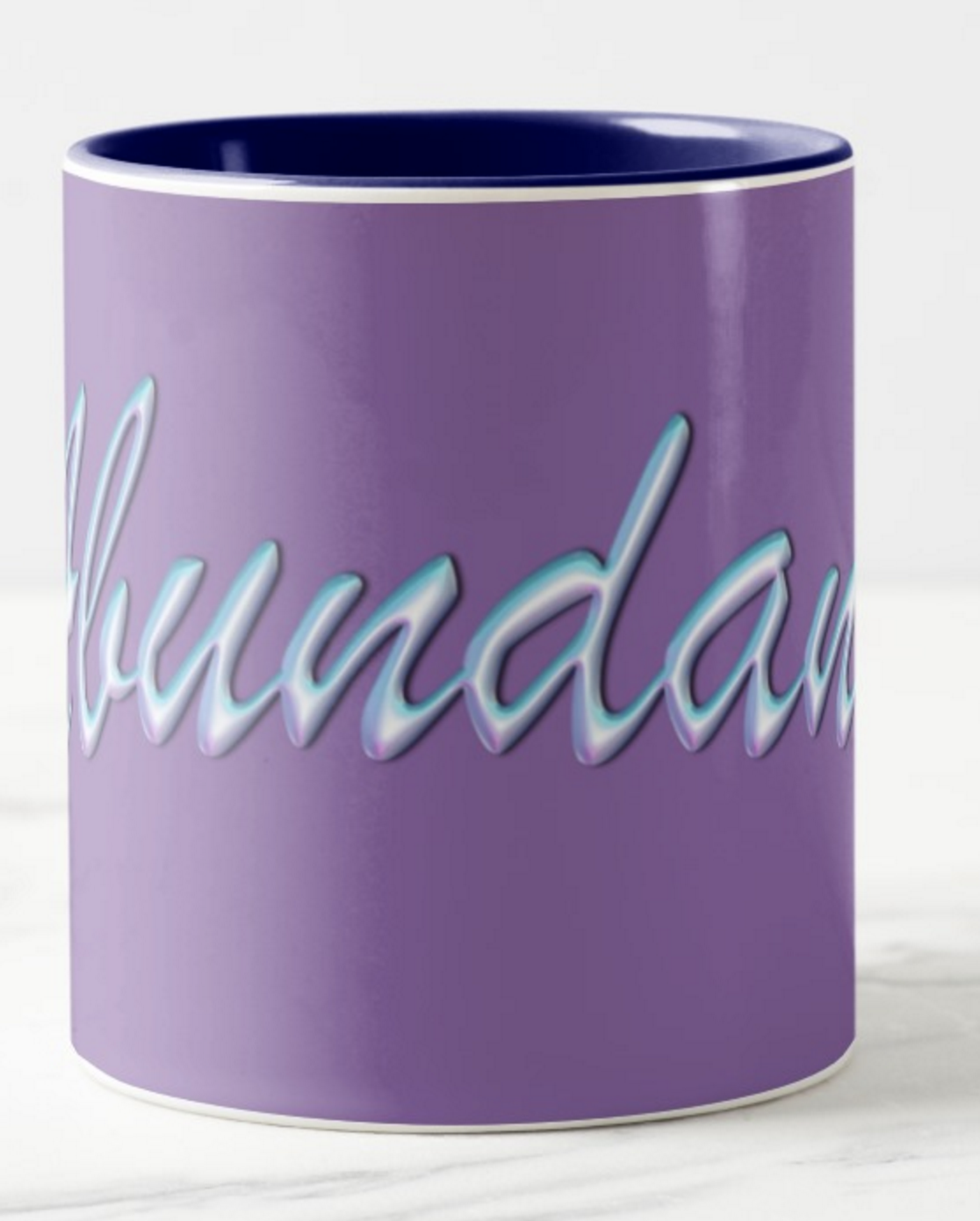 """This is the first in my series of """"Power Word"""" Coffee Mugs"""