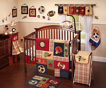 NoJo My Little MVP 9-Piece Crib Bedding Set