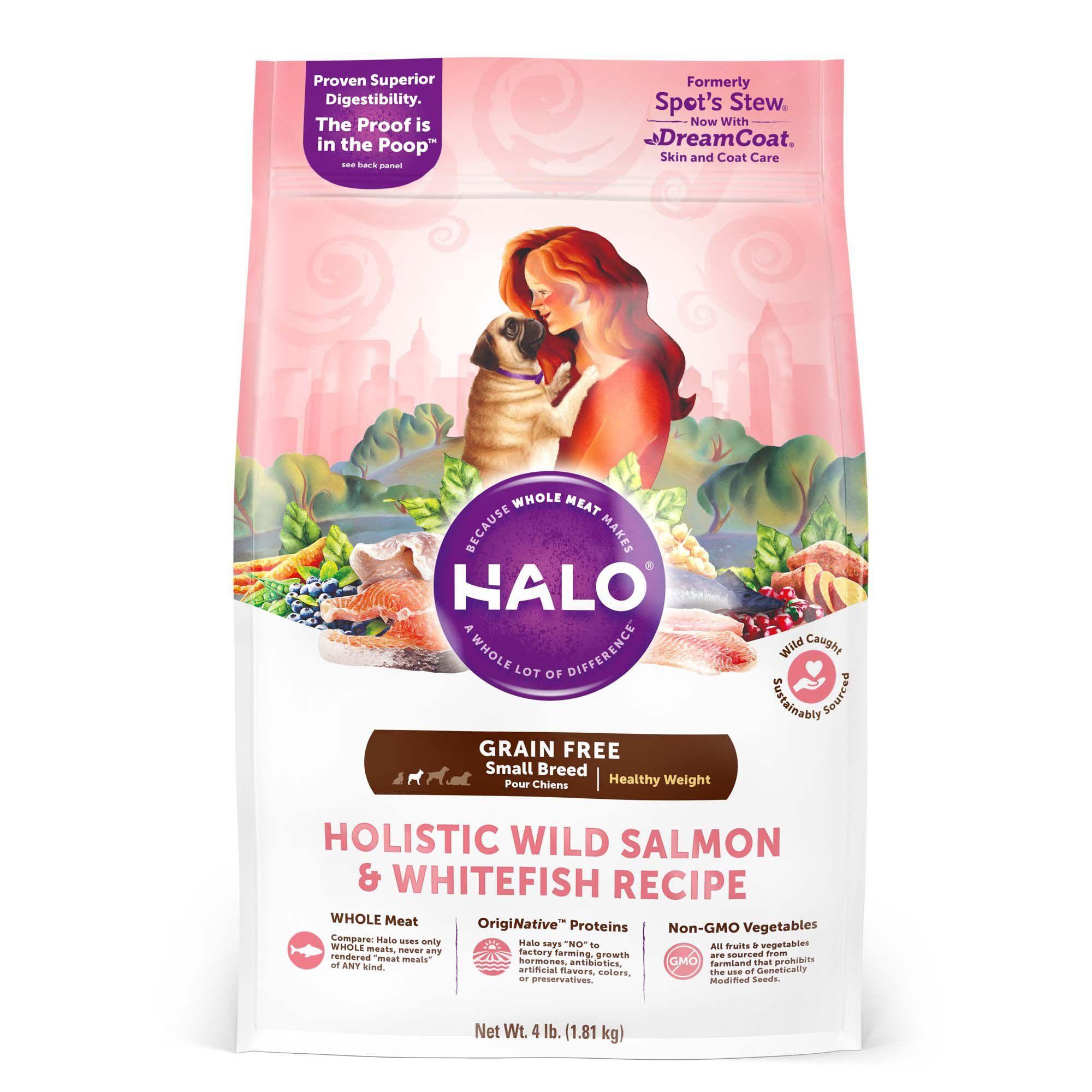 Halo Holistic Healthy Weight Grain Free Wild Salmon