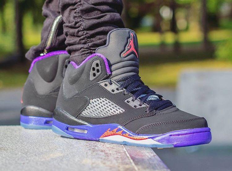 Air Jordan 5 Retro 'Fierce Purple' post