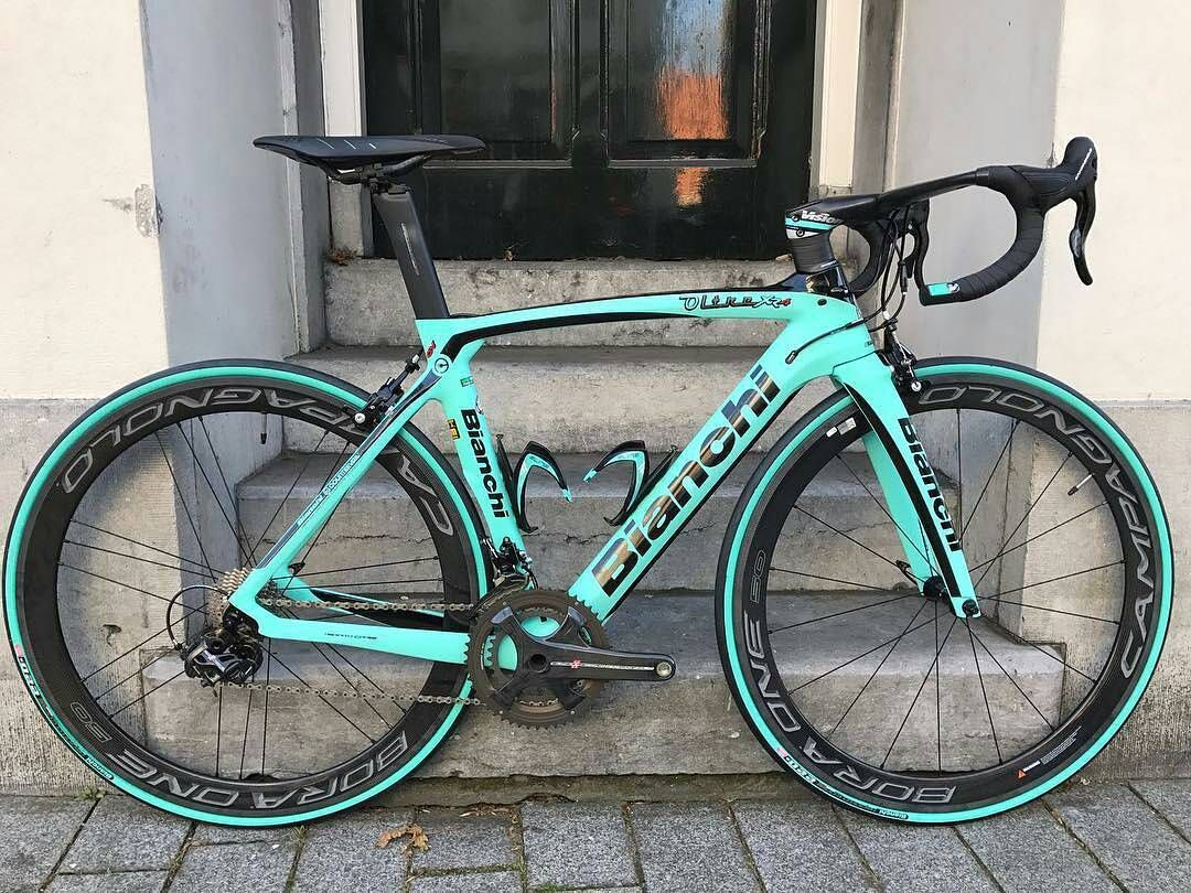 Bianchi Oltre Xr4 With Campagnolo Groupset And Bora One 50 Wheels