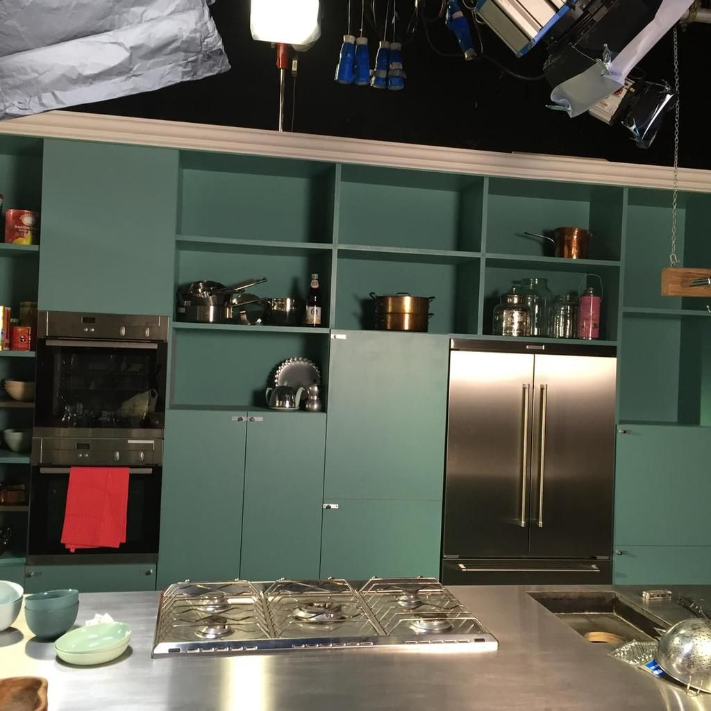 Getting The Studio Looking Good For TV Series Of #SimplyNigella   Start  Filming Monday. Nigella KitchenSimply ...