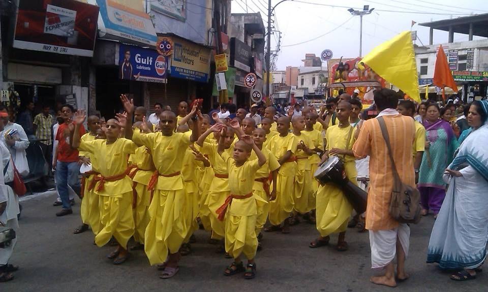 Impressive Jagannath Rath Yatra taken out in Jammu ( Kashmir) (Album 66 photos)