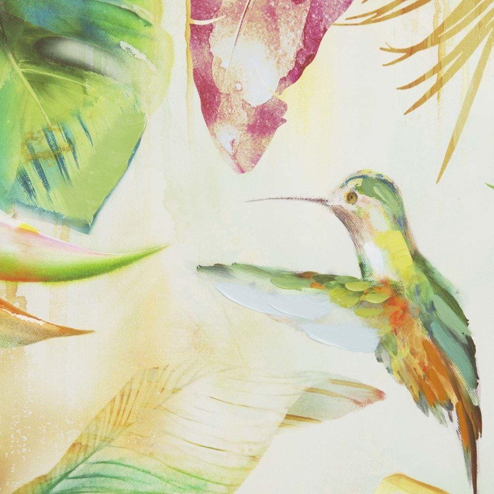 Toile Imprim E Tropical 70×70 Maisons Du Monde Sdb Pinterest