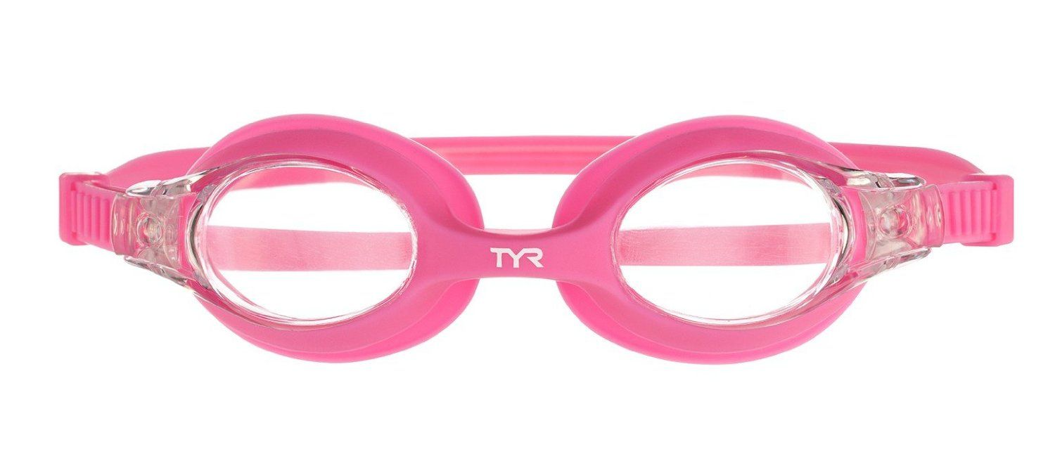 Amazon.com : TYR Swimple Kids Goggle (Clear/Pink) : Swimming Goggles : Sports & Outdoors