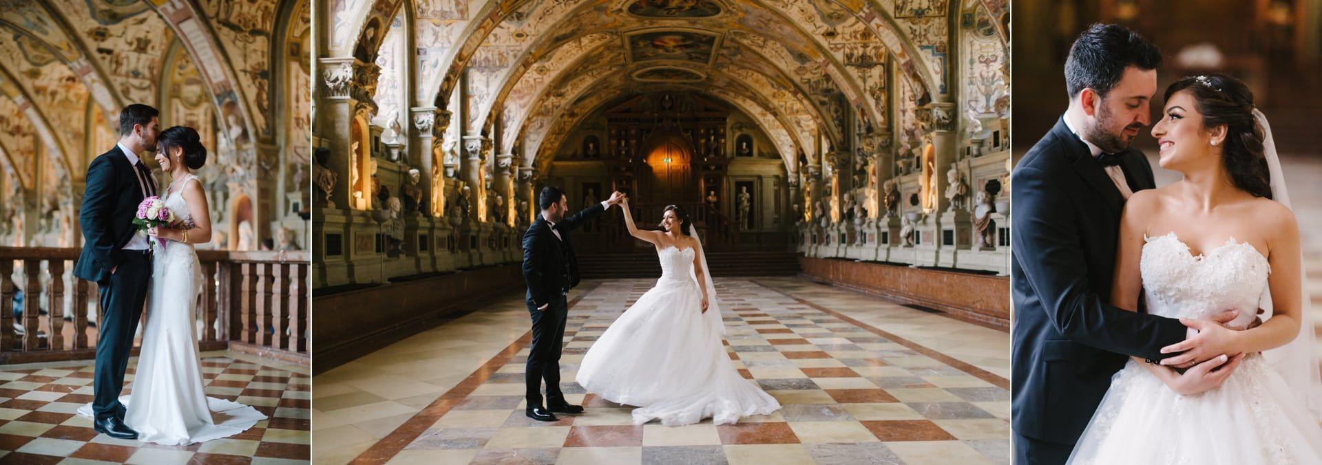 Hochzeitspaar In Der Residenz In 2020 Hochzeitspaar Hochzeit Brautpaar