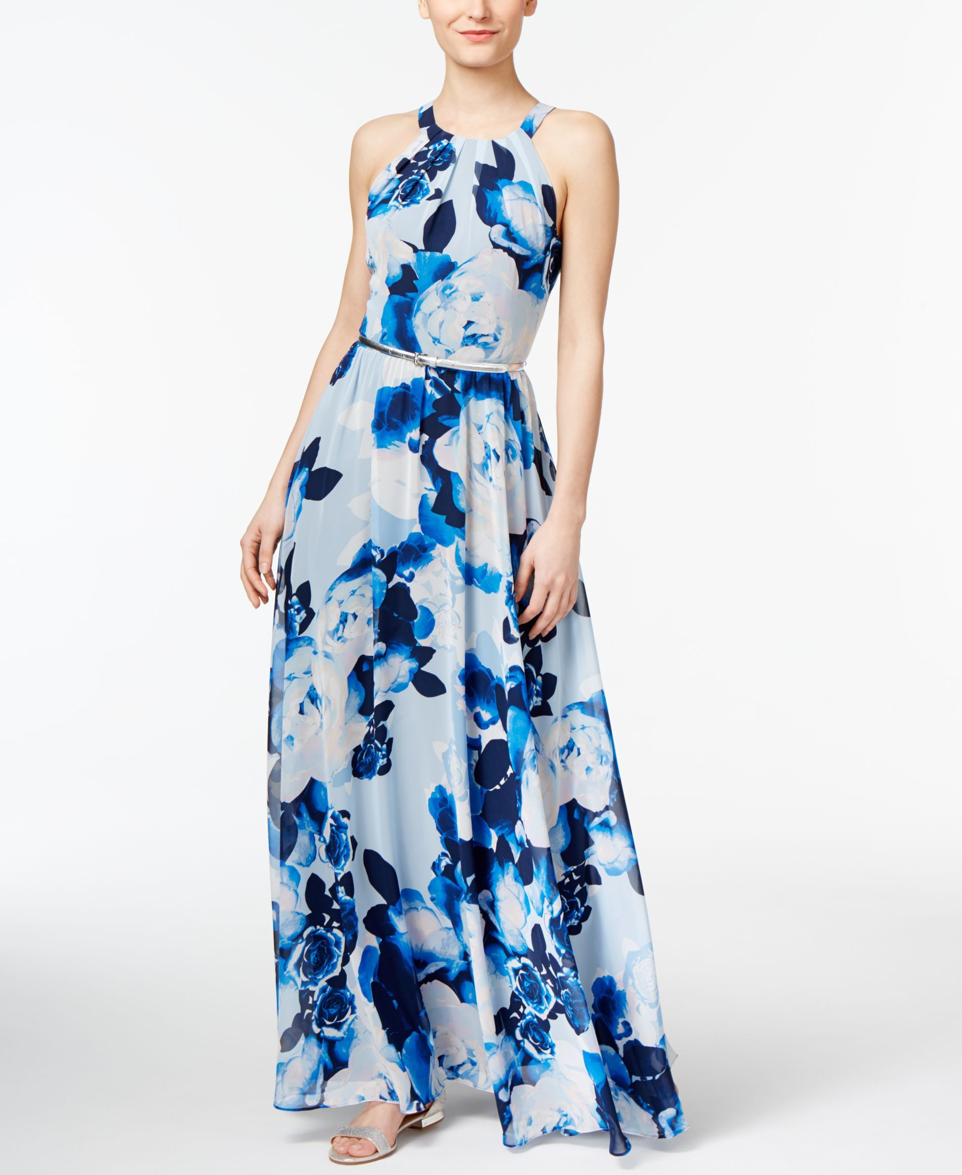 Inc International Concepts Floral Print Maxi Dress Only At Macys