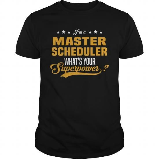Master Scheduler #jobs #tshirts #SCHEDULER #gift #ideas #Popular